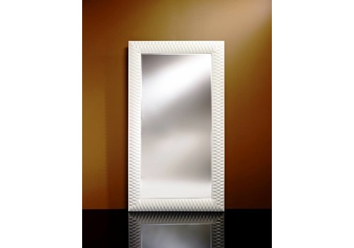 Deknudt grote spiegel 'Nick' wit
