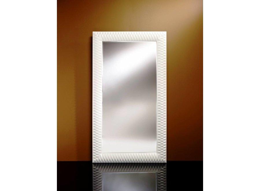 Grote spiegel 'Nick' wit