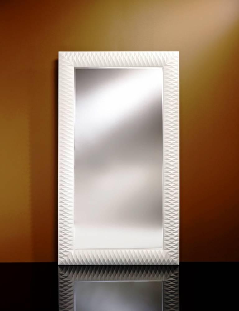 Large Mirror Nick In White, Huge Wall Mirror Uk