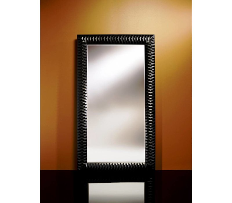 large mirror 'Nick' in black
