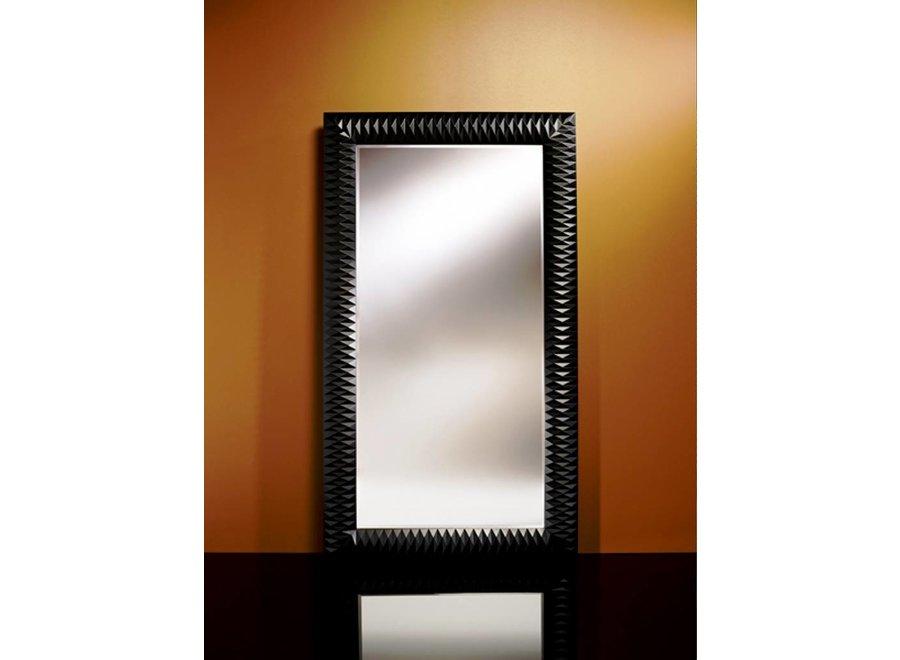 grote spiegel 'Nick' zwart