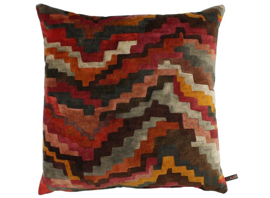 Cushion Fanny Burned Orange