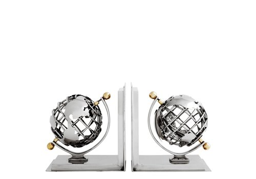 EICHHOLTZ 'Globe' Bookend Set van 2