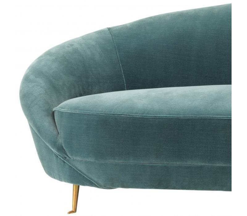 Couch 'Provocateur' in der Farbe Cameron Deep Turquoise