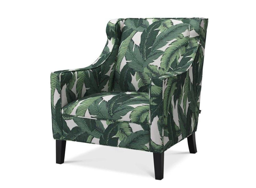 Fauteuil 'Jenner' - Mustique green
