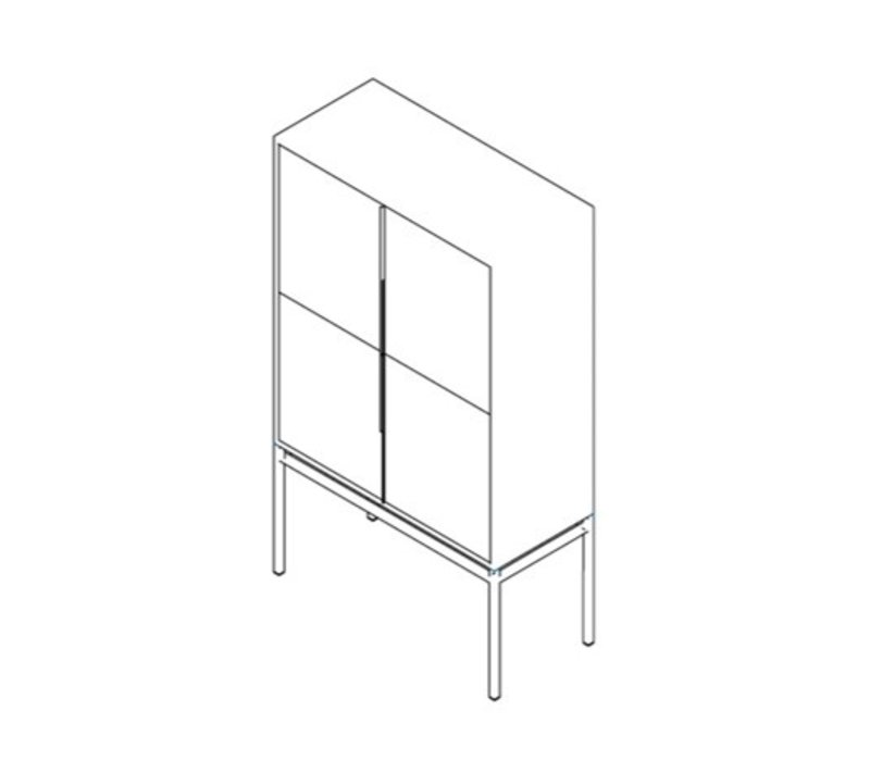 Bar cabinet 'Triangle'