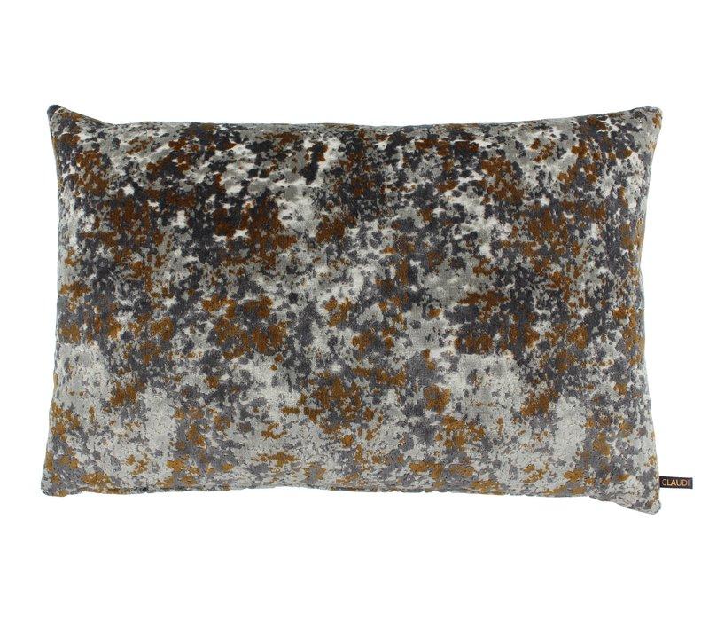 Sierkussen Othilia Grey/Copper