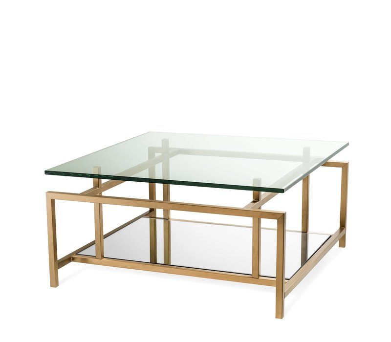 Coffee table 'Superia' - Messing