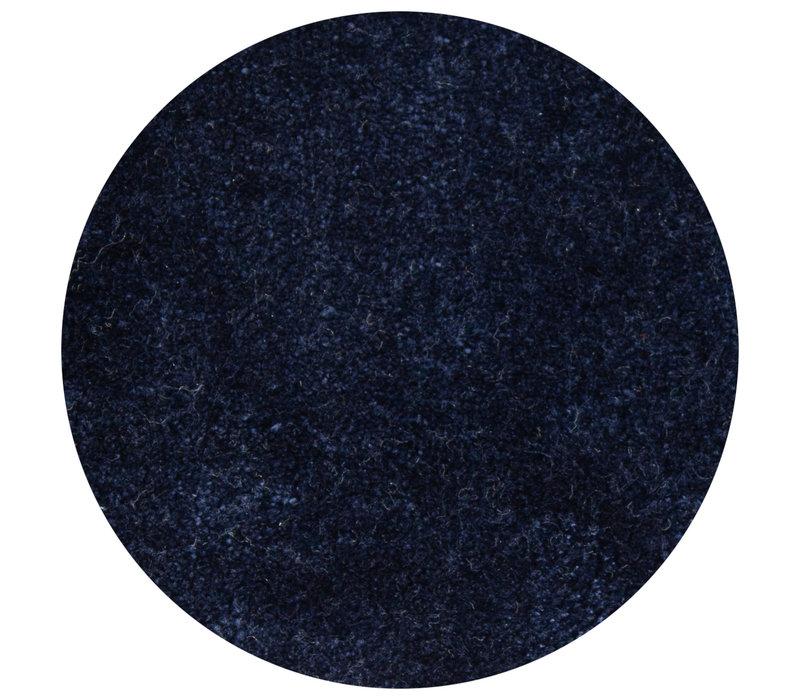 Carpet Lake Dark Blue - round