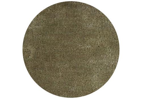 Dome Deco Carpet Lake Light Green - round