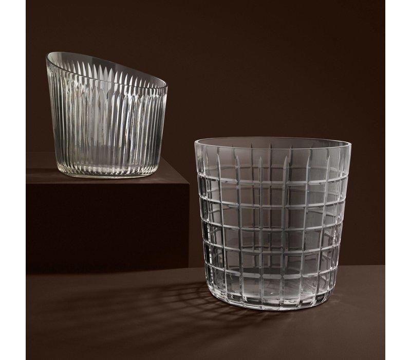 Weinkühler Glas 'Louxor' 22 x 22 cm (h)