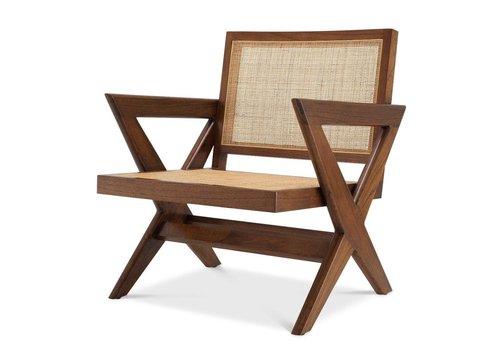 EICHHOLTZ Chair Augustin - Brown