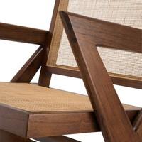 Chair 'Augustin' - Brown