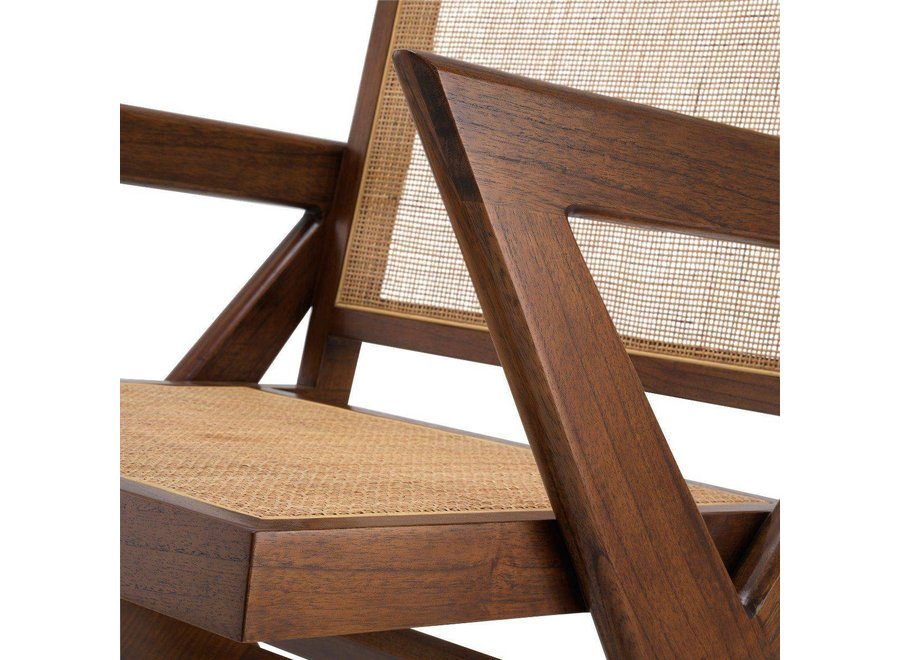 Fauteuil 'Augustin' - Brown