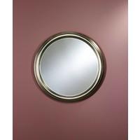 Silberner Spiegel rund 'Ring' Durchmesser 91 cm