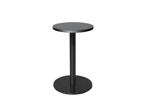 Dome Deco Round End table 'Marais' Black - M