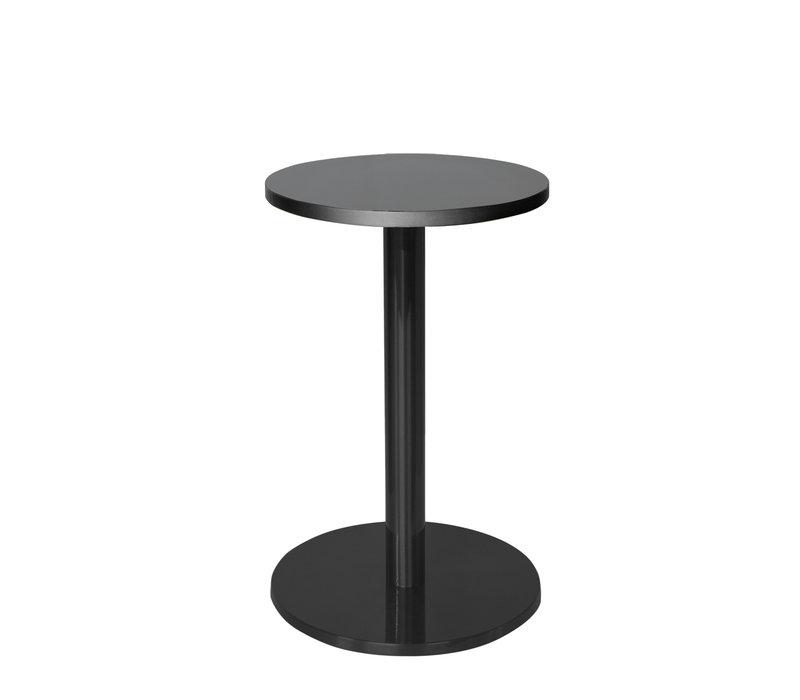 Round End table 'Marais' Black - M
