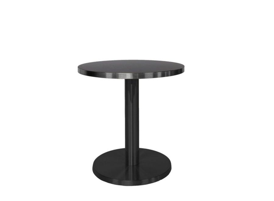 Round End table 'Marais' Black - S