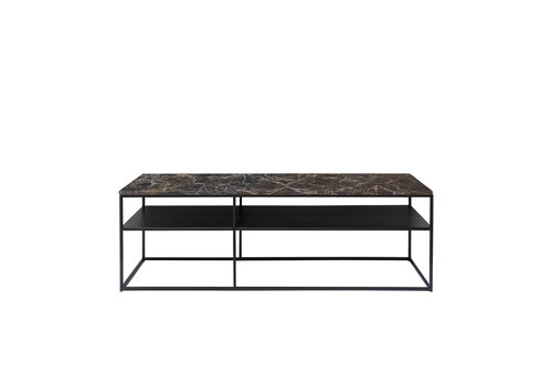 Dome Deco Console table 'Geneva' - Emperador Marble