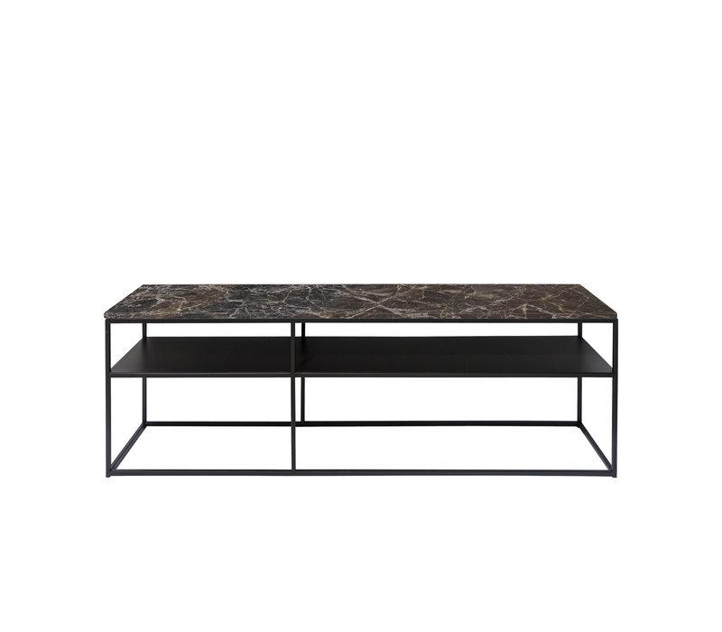 Console table 'Geneva' - Emperador Marble