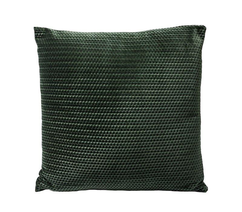 Kissen June in der Farbe Grün