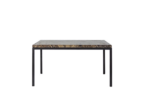 Dome Deco Coffee table 'Moma' - Emperador Marble - 40 cm