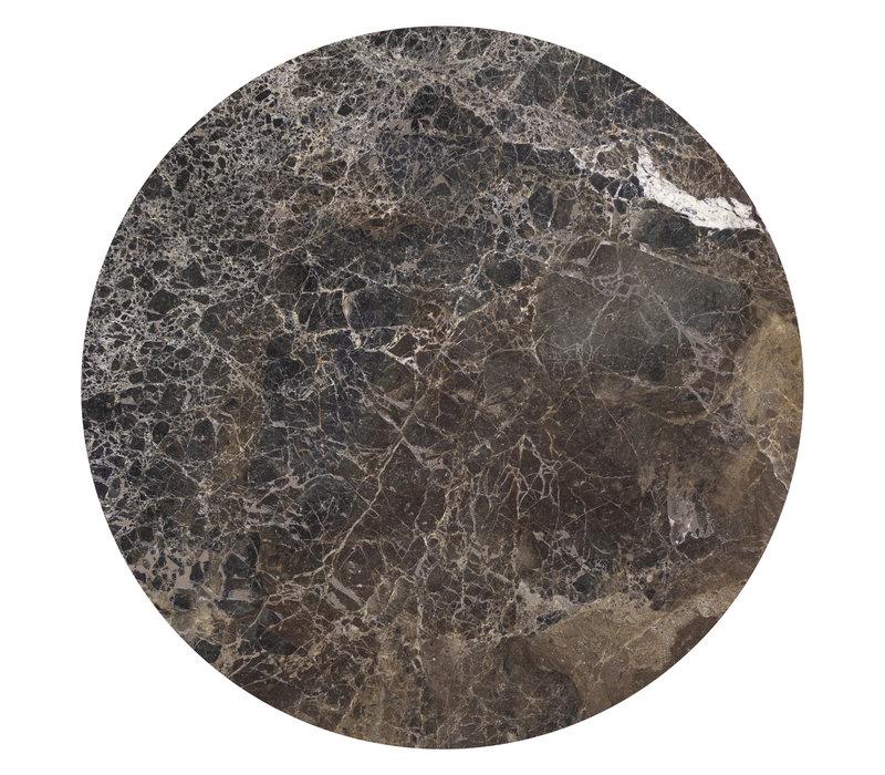 Couchtisch 'Moma' - Emperador Marble - 40 cm