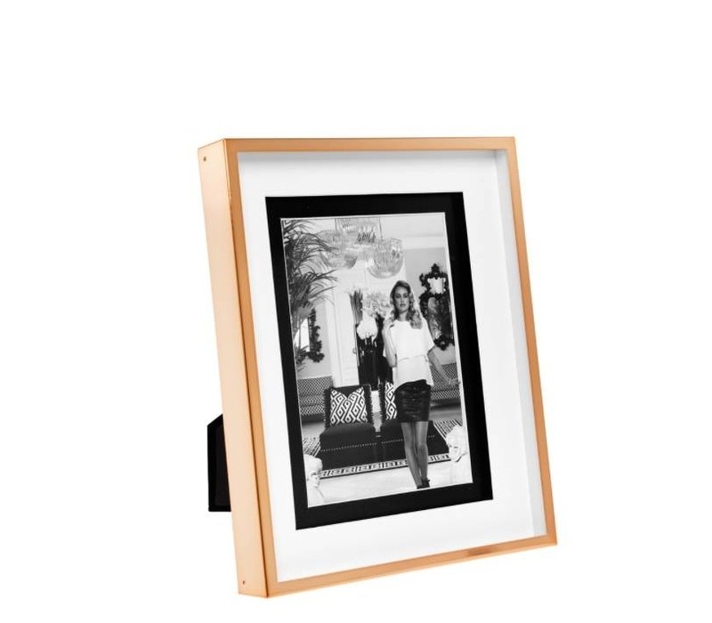 Fotolijst groot Gramercy Large in rosé goud