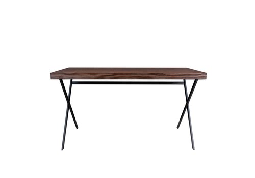 Dome Deco Bureau 'Plato' - Maccasar Wood brown - 140 cm