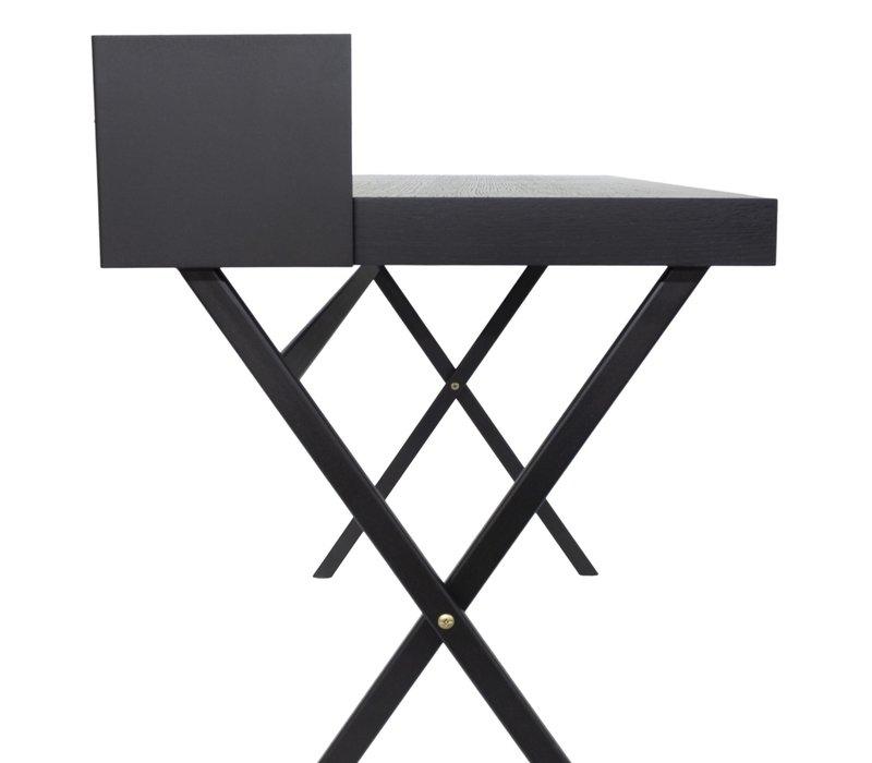 Schreibtisch 'Plato' - Oak Wood brown - 100 cm