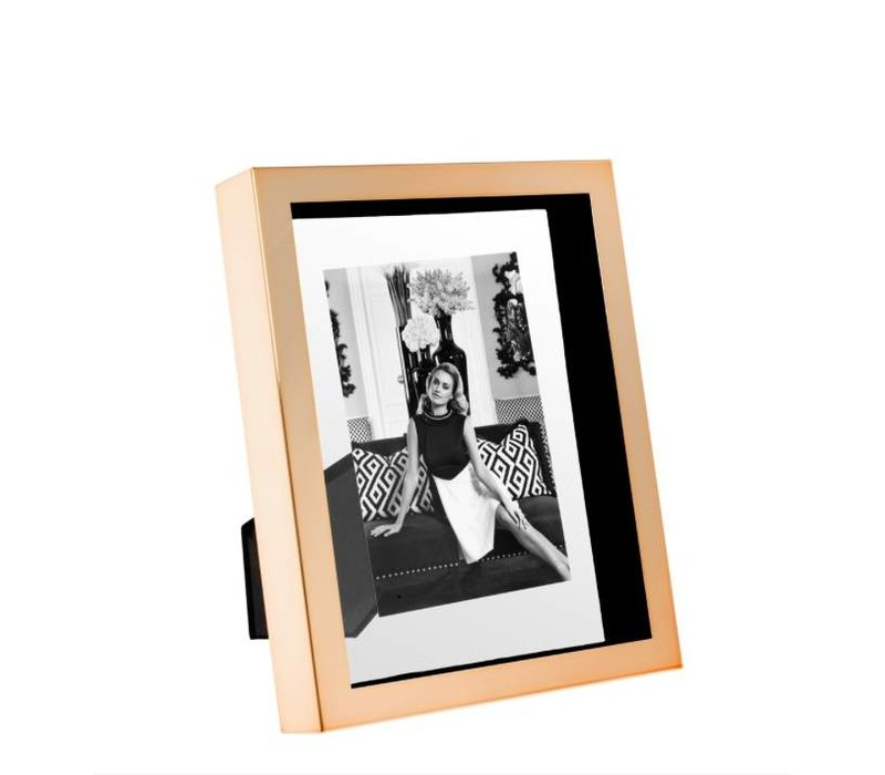 Picture frame Mulholland Small in rose gold