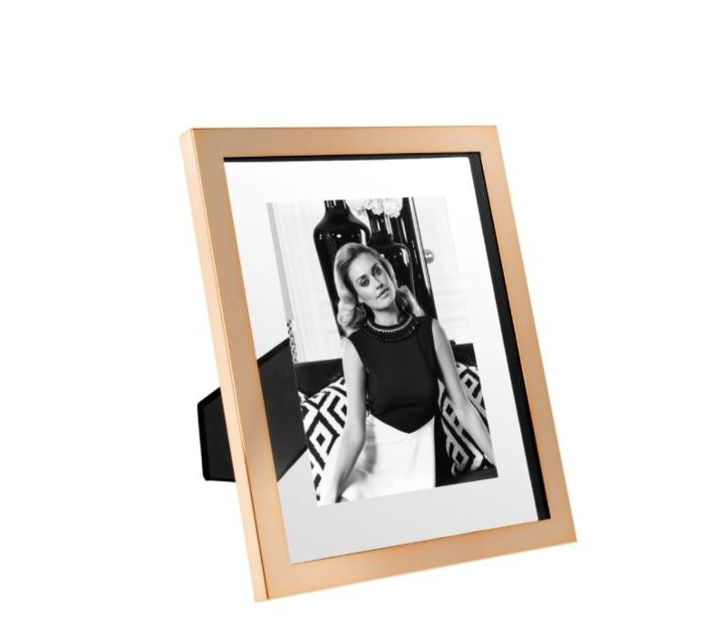 Large picture frame Brentwood L in rose gold