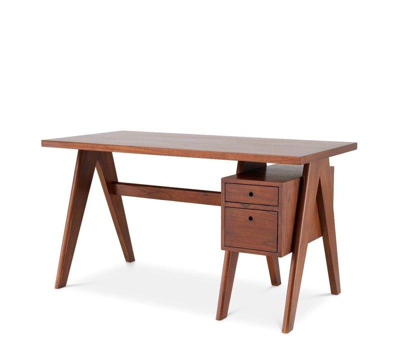 Schreibtisch 'Jullien' - Brown
