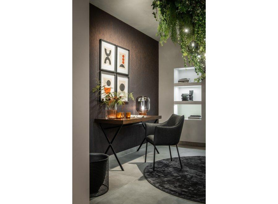Bureau 'Plato' - Maccasar Wood brown - 140 cm