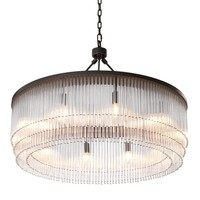Chandelier 'Hector' - L Bronze Highlight Finish