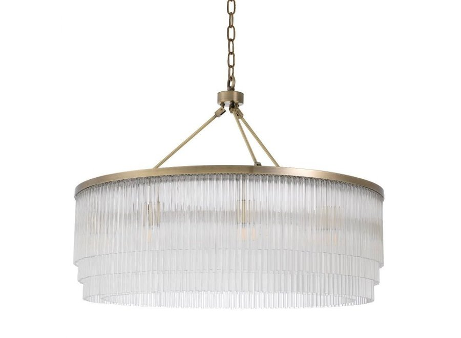 Chandelier 'Hector' - L - Messing