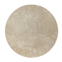 Coffee table 'Moma' - Travertine - 90 cm