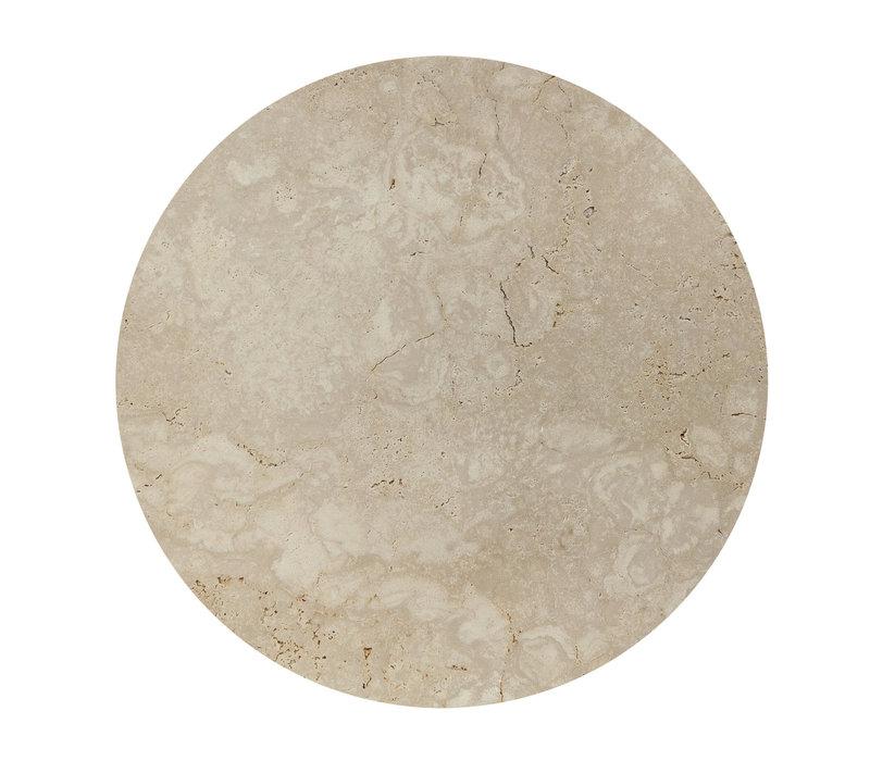 Couchtisch 'Moma' - Travertine - 90 cm