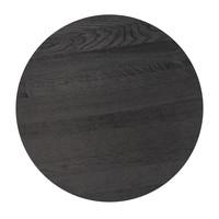 Coffee table 'Moma' - Wood black - 90 cm