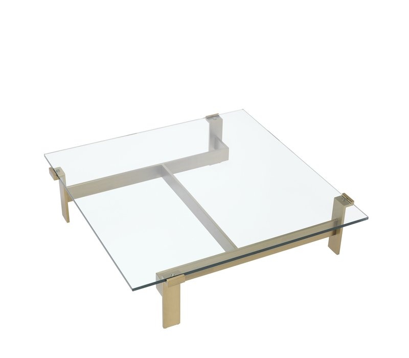 Coffee table 'Maxim' - Brass