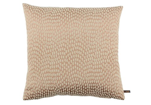 CLAUDI Cushion Sudine Ash Rose
