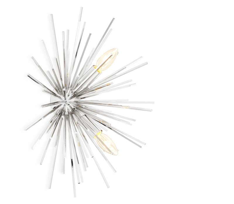 Wandlampe 'Boivin' - Nickel