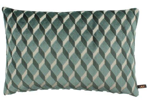CLAUDI Cushion Dinandi Dark Mint