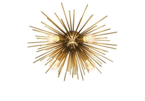 EICHHOLTZ Ceiling lamp Boivin - Brass