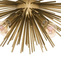 Deckenlampe 'Boivin' - Messing