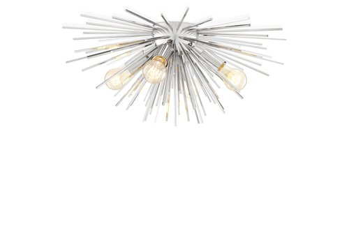 EICHHOLTZ Deckenlampe Boivin - Nickel