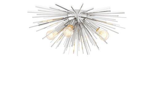 EICHHOLTZ Plafondlamp Boivin - Nikkel
