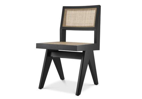 EICHHOLTZ Dining chair Niclas - Black
