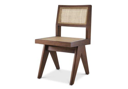 EICHHOLTZ Dining chair Niclas - Brown