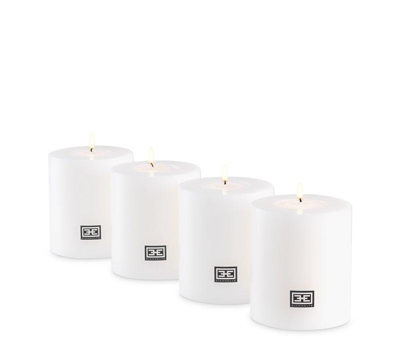Artificial candles XL - 2 pieces  - 9x8 cm